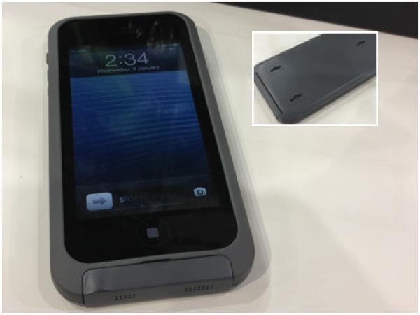 Funda con Batería para iPhone 5 iBattz AquaSeal Hi5 en el CES 2013