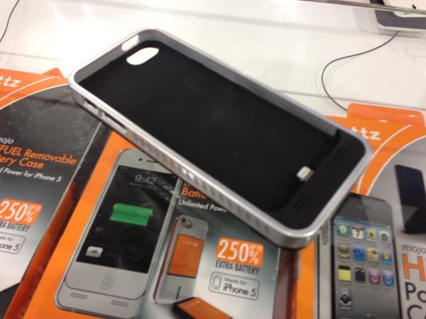 Funda con Batería para iPhone 5 iBattz Mojo Refuel en el CES 2013