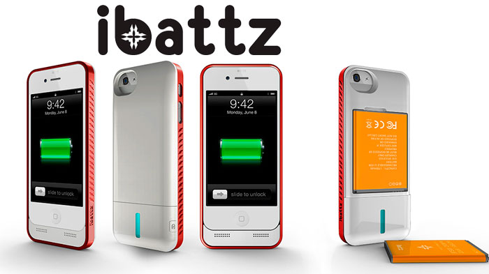 Funda con Batería para iPhone 5 iBattz Mojo Refuel