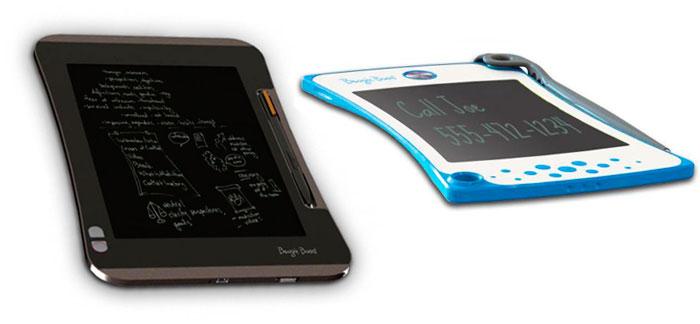 eWriters Boogie Board de Improv Electronics presentados en el CES 2013