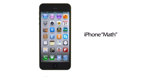 iphone math