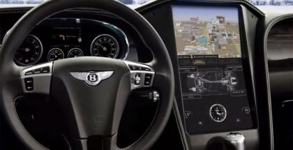 Bentley Continental GT modificado con plataforma QNX Car 2.0 en el CES 2013