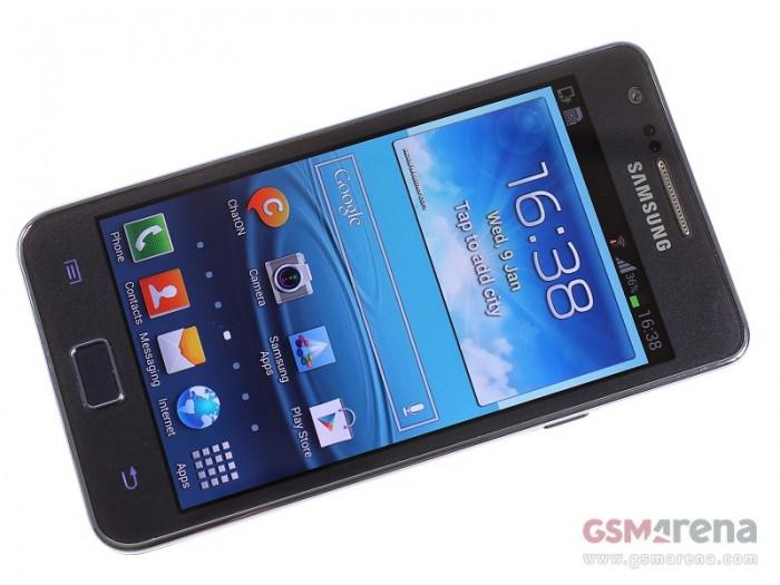 Samsung Galaxy S2 Plus Imagen Frontal