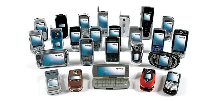 smartphones symbian