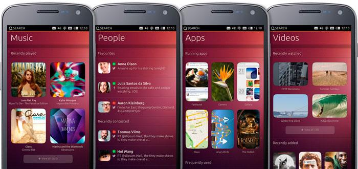 Screenshots Ubuntu Phone
