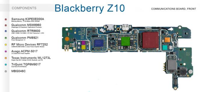 Blackberry-Z10-tarjeta-lógica-1