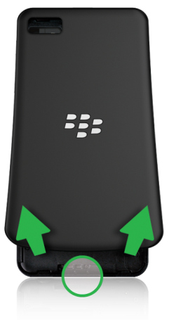 Confuigurar BlackBerry Z10_2