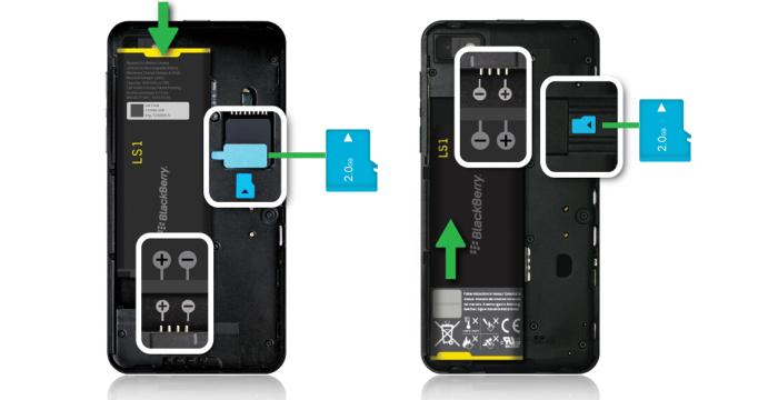 tarjeta de memoria para blackberry z10