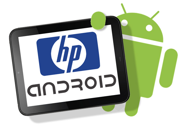 HP-tablet con-Android