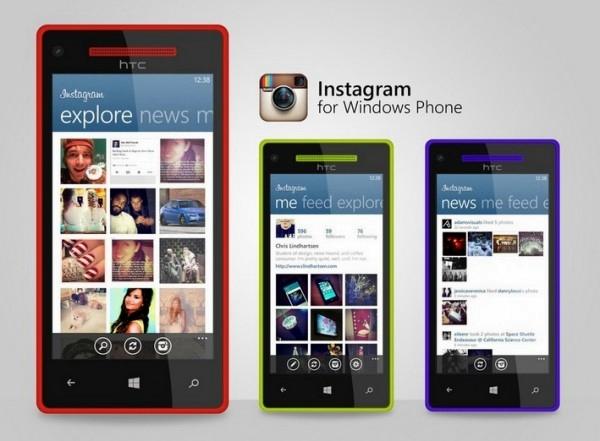 Instagram en Windows Phone
