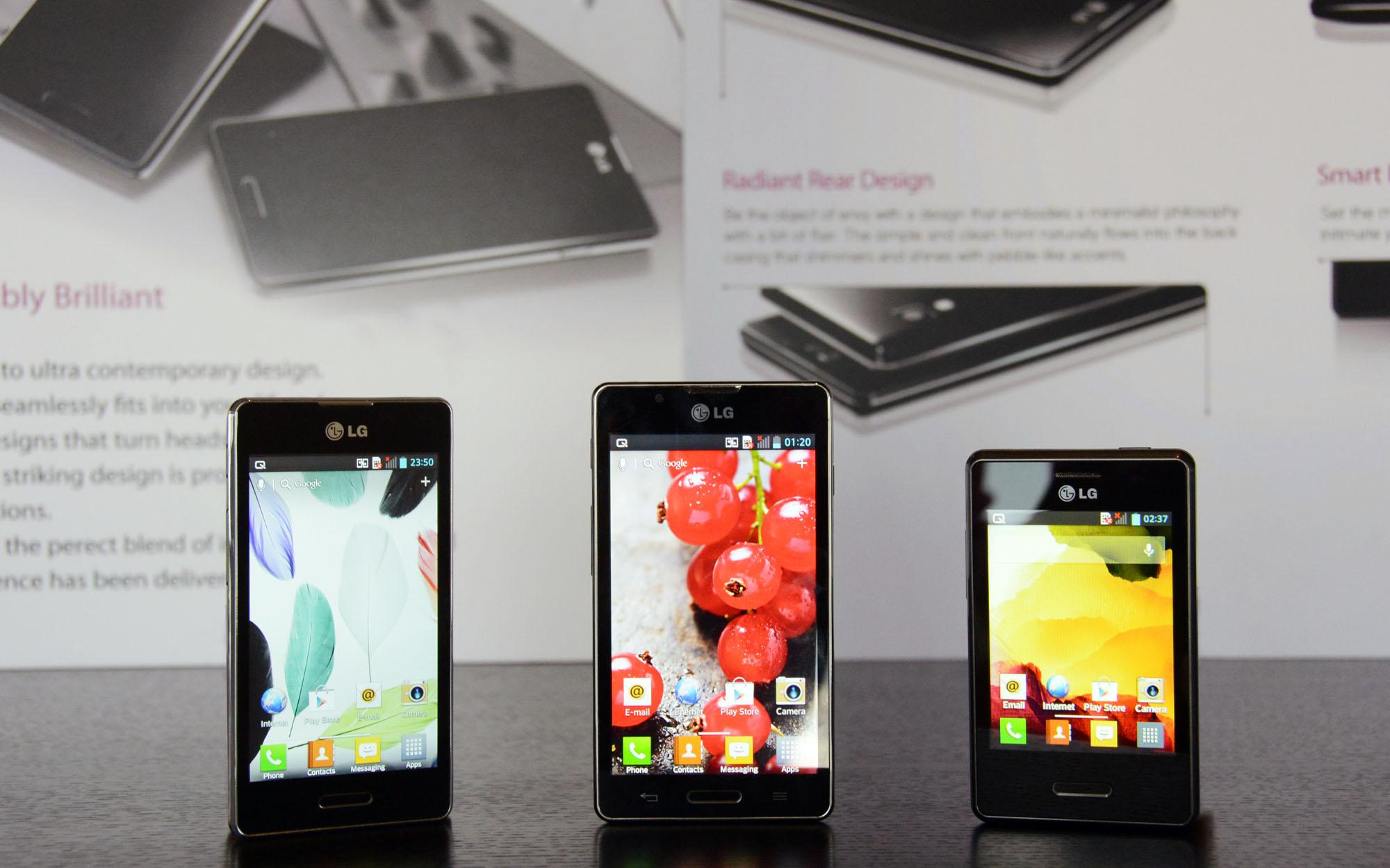 LG Optimus L-Series_II-_L5_L7_L3