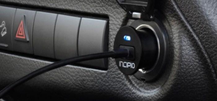 Mini auto charger Lightning Incipio_2