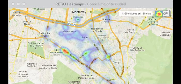 RETiO-WebHeatmaps