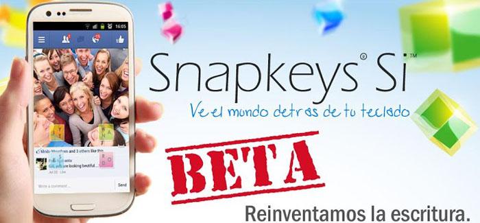 Snapkeys-Si-Beta-Android