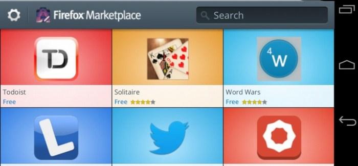 Twitter en Firefox OS