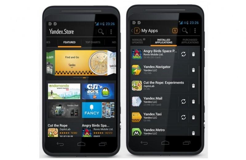 Yandex-App-Store smartphones