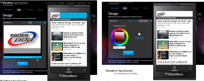 blackberry app generator bb10 os 4
