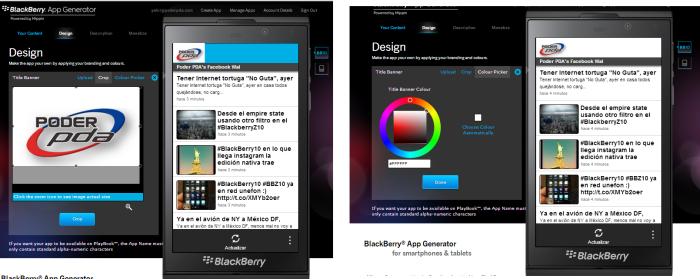 blackberry app generator bb10 os 4