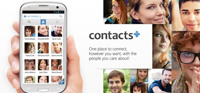 contacts + google play