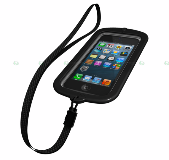 funda buffalo iphone5waterproof-negra