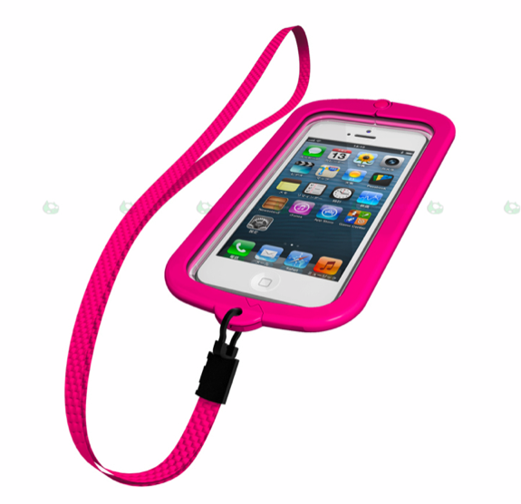 funda buffalo iphone5waterproof-rosa