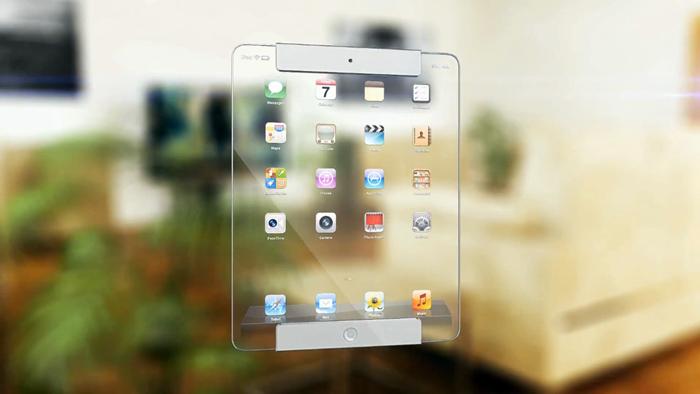 iPad transparente -Frente