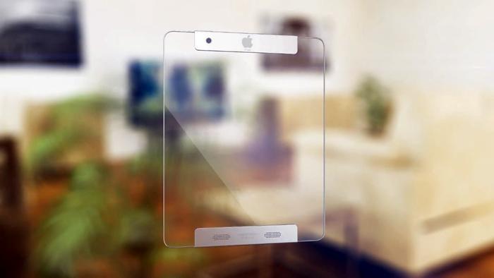 iPad transparente - Posterior