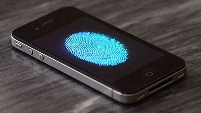 iphone 5s fingertip scan