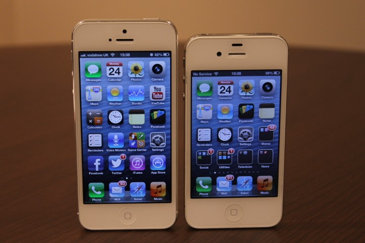 iphone5 y iphone 4S