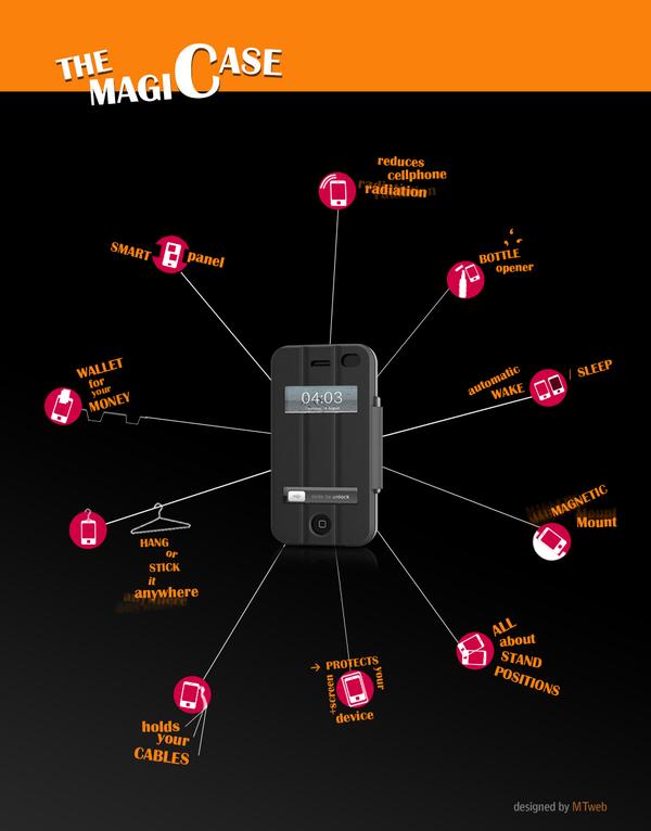 magic case para iphone