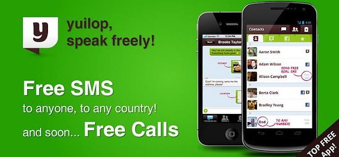 yuilop llamadas y mensajes gratis