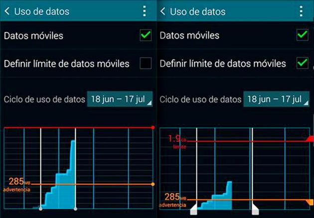 Excesivo-consumo-del-plan-de-datos sintoma virus en smartphones