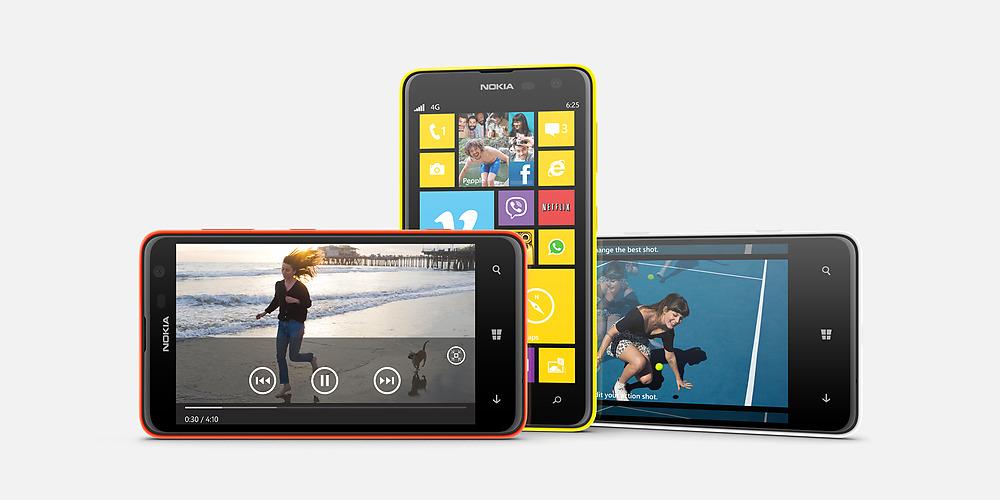 Nokia Lumia 625, especificaciones: