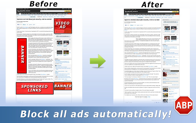 FREE DOWNLOAD Adblock Plus.