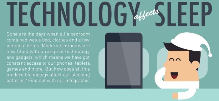 Nuestros hábitos del sueño se han visto afectados debido a la adopción de los gadgets.
