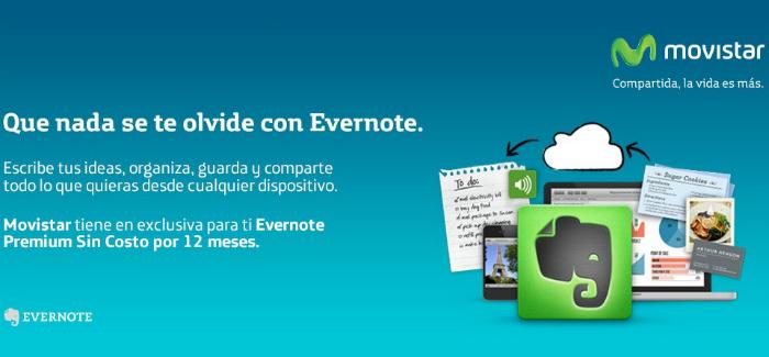 Movistar-Evernote-premium-gratis