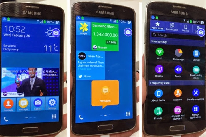 Samsung movil TIZEN