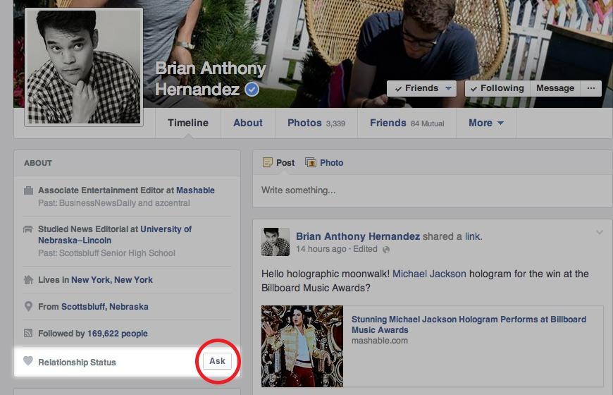 Facebook-Relaciones