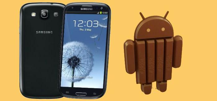 Galaxy S3 KiKat 4.4