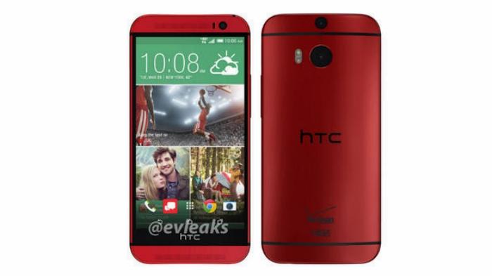 HTC lanza la version en rojo del One M8, sin embargo solo para Taiwan