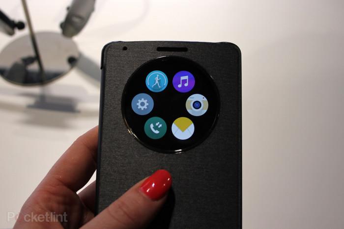 La carcasa Quick Circle del LG® G3 es la personaje del 1° videojuego único para este dispositivo