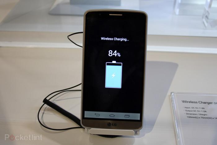 El cargador inalámbrico del LG® G3, un gadget con mucho estilo y funcionalidad
