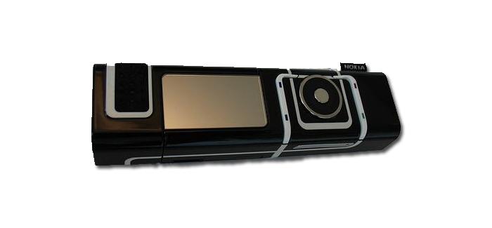 El Nokia® 7280 no posee teclado fisico ni virtual sino un procedimiento de texto mediante una parte giratoria