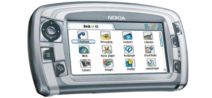 Es el 1° movil de Nokia® en ejecutar el metodo Symbian® OS Serie 90.