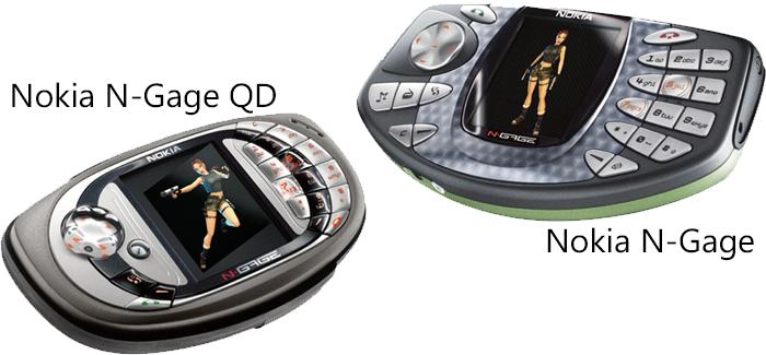 El N-Gage (QD) es un equipo que combina un equipo movil y una consola portátil.