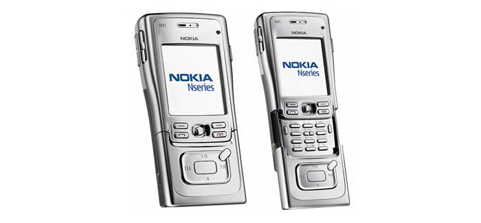 El Nokia® N91 posee una conectividad Wi-Fi, Bluetooth, y USB® 2.0 con modo de archivamiento masivo.