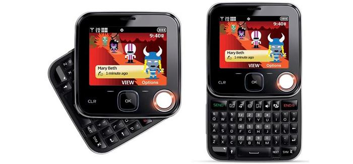 El Nokia® Twist 7705 fue considerado, en el lanzamiento, como perfecto para mensajería.