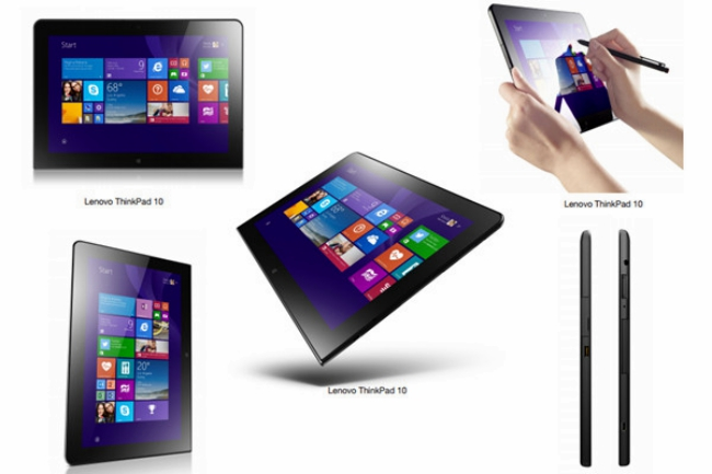 ThinkPad diez - tablet