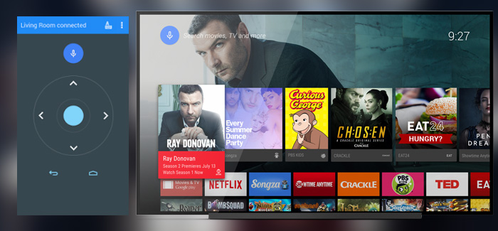 Android-TV-Control-app