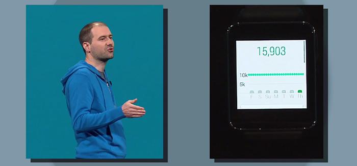 El nuevo metodo operativo movil para wearables, Android® Wear, fue mostrado ayer en el Google® I/O.